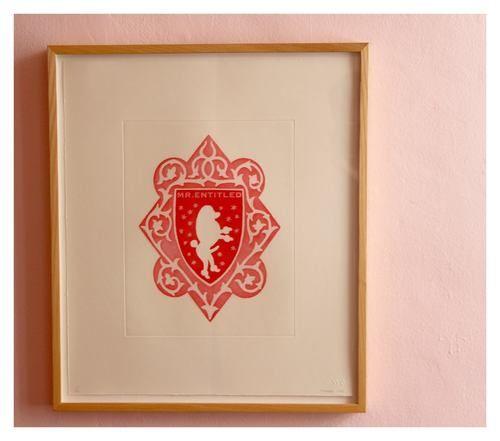 Brett Murray | 'Mr & Mrs Entitled'  (6/20) | Aquatint on Somerset Textured Soft White 300gsm | 51,5 x 44,5 cm