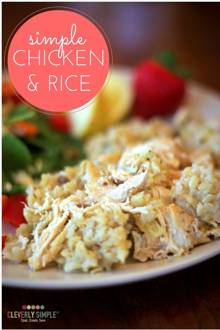 Easy Chicken And Rice Recipe Easy Rice Recipes Easy