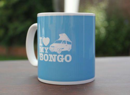 MAZDA BONGO FRIENDEE CAMPERVAN WRAP MUG - I Love My Bongo - NEW FOR 2014 | eBay