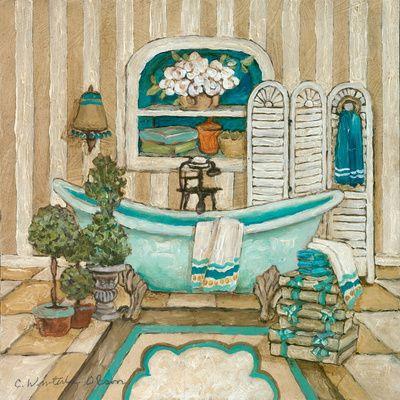 Charlene Winter Olson bath prints en AllPosters.es                                                                                                                                                     Más