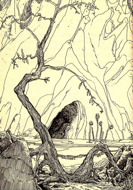 Russ Nicholson. The Warlock of Firetop Mountain. Fighting Fantasy