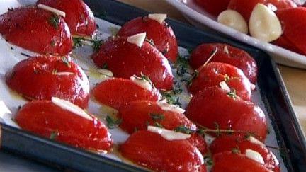 Tomates confites - Recettes - À la di Stasio