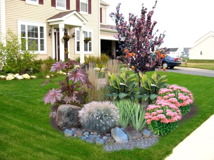 Front Yard Island Ideas Part - 21: Another Front Of House Island Garden Bed Inspiration Idea