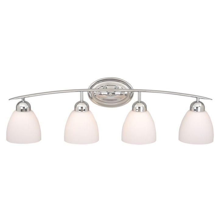 Shop Cascadia Lighting  4 Light Chase Bathroom Light at Lowe's Canada. Find our selection of bathroom vanity lighting at the lowest price guaranteed with price match + 10% off.