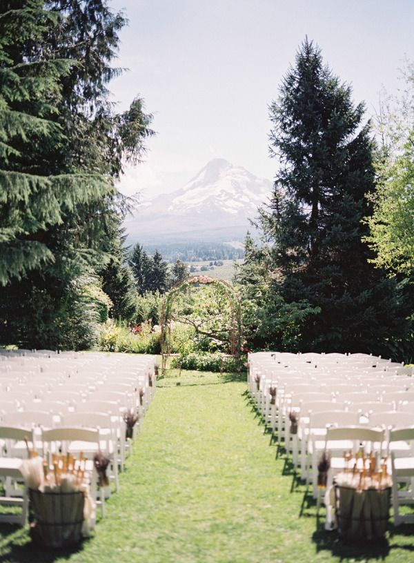 oregon organic farm wedding from michael radford photography outdoor ceremonyoutdoor weddingswedding