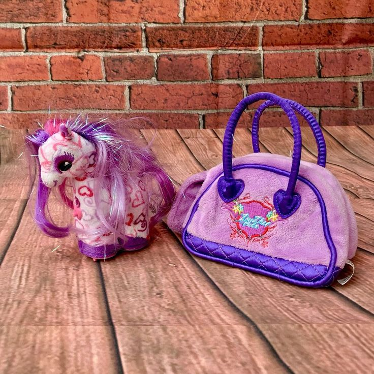 Bonnie zhu zhu pets horse & animal carrier bag case silly sounds play & spin fun
