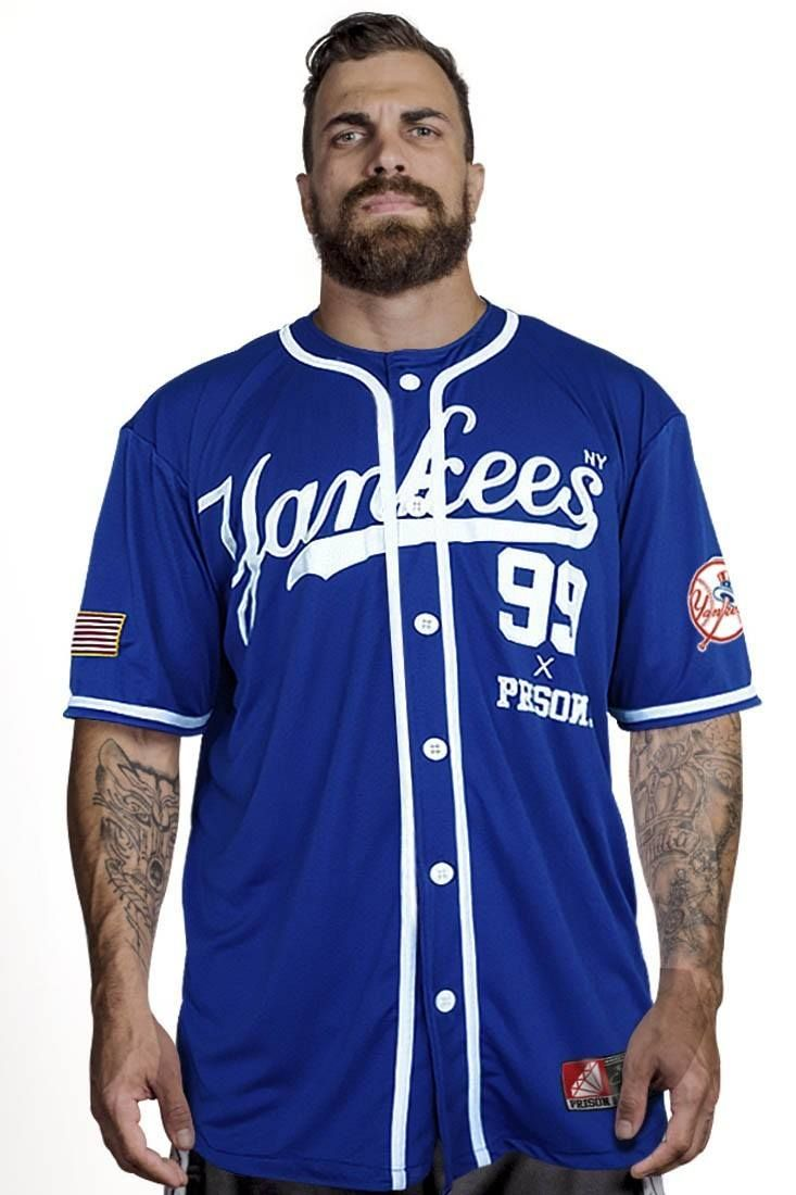 Casi muerto Cosquillas gancho  Camisa de Baseball Yankees Azul | Camisas de béisbol, Camisas, Ropa