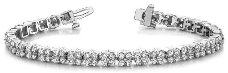 Diamantarmband 2.99 Karat aus 585er/750er Gelb- oder Weißgold  #diamantarmband #diamonds #diamante #diamanten #gold #schmuck #diamantschmuck #juwelier #abt #dortmund #brillant #armband #armschmuck