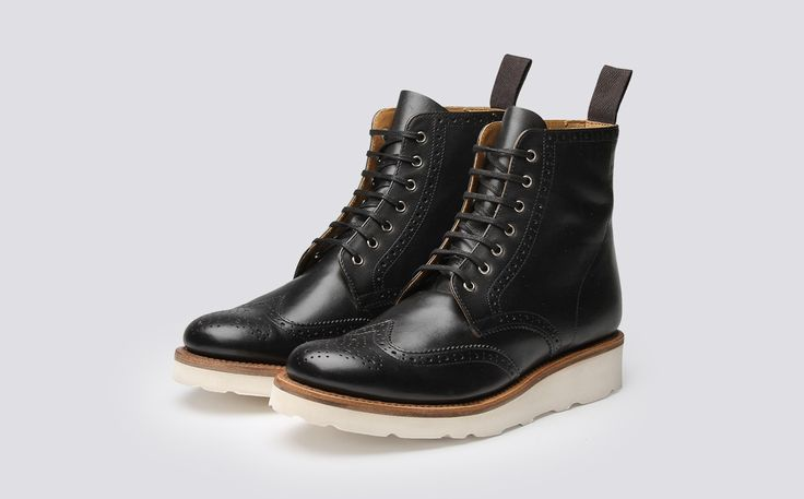 Grenson   Women's Shoes, Women's Oxfords, Women's Boots, British Shoes, Goodyear Welted, Emma