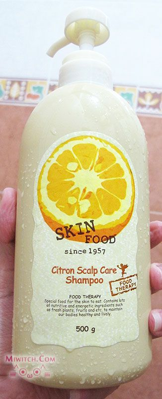 {+} miwitch {+}: Review: Skin Food Citon Scalp Care Shampoo