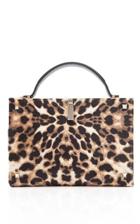 Valentino Leopard Clutch on Moda Operandi #shopitrightnow