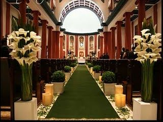 Nosso quadradinho: Decoração da igreja