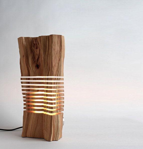 Reclaimed Wood Sculpture Illuminated Art by SplitGrain on Etsy, $2100.00