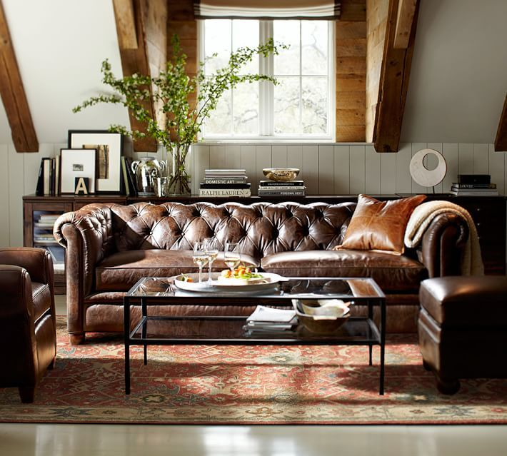 chesterfield living room chesterfield leather sofa einrichtungsideen wohnzimmer 11008