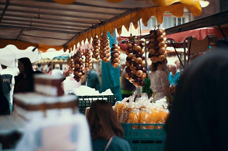 Regionale Produkte auf dem Freiburger Wochenmarkt