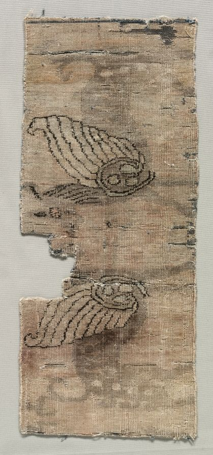 Iran ?, Seljuk period, 12th century, senna knot, Overall: 39.30 x 16.20 cm (15 7/16 x 6 3/8 inches). Gift of Mr. and Mrs. Werner Abegg 1966.132