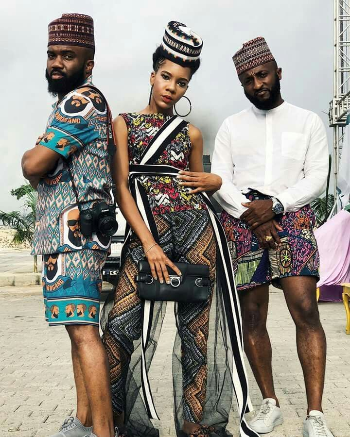 Editor's #Style Picks - 3 friends X 3 different African print looks .. #LOVEit  #ZenMagazine   For more click www.zenmagazineafrica.com  Modelled by @noble_igwe   @wovenblends   @thedanjuma