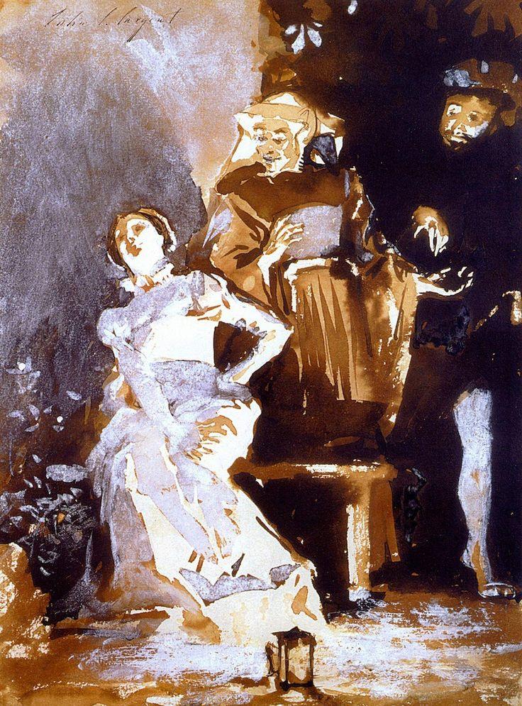 610 Best John Singer Sargent S Watercolor Images On