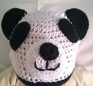 Capitan Uncinetto: Cappello Panda