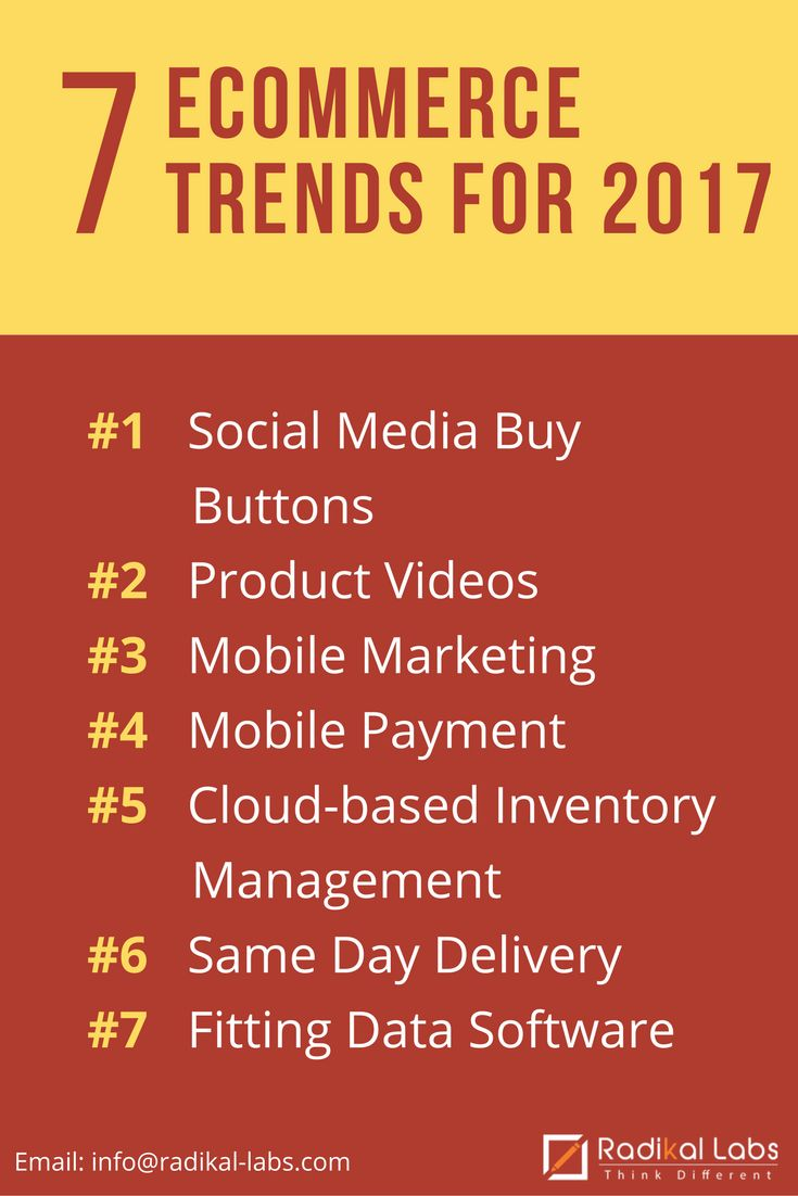 Like previous years, 2017 is expected to unfold new eCommerce trends which businesses such as yours can benefit from. If you are to develop a winning ecommerce marketing strategy you'll need to start planning now.