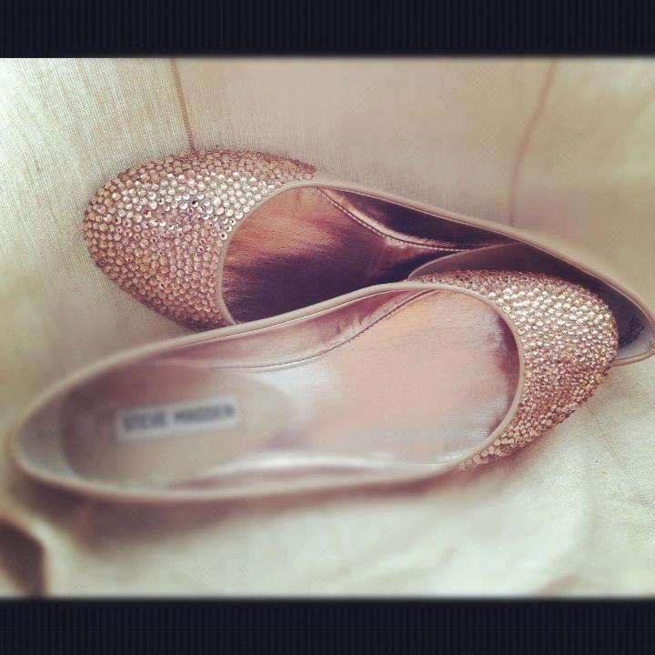 Champagne Wedding Shoes Ballet Flats Wedding Flats