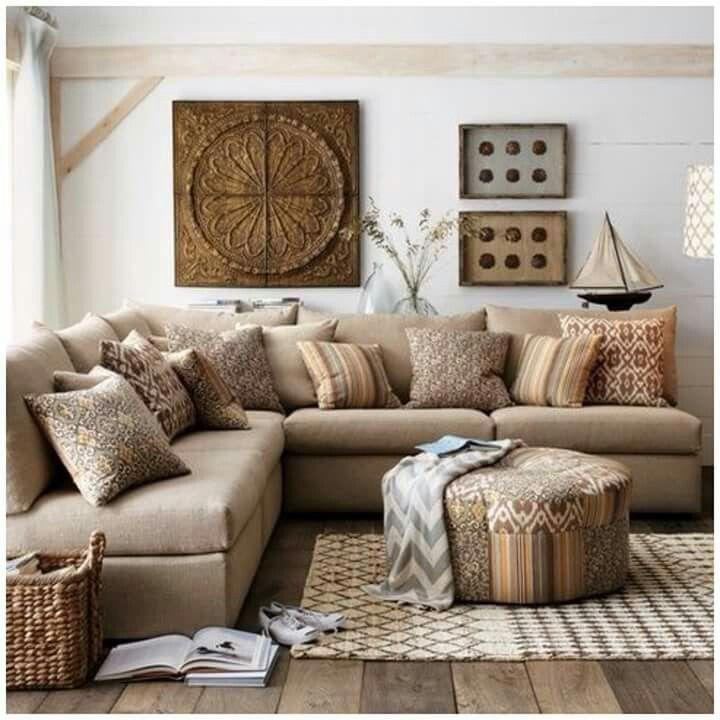Salas en escuadra para el hogar pinterest decoracion - Paginas de decoracion de casas ...