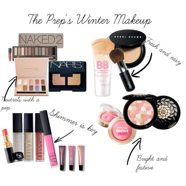 """""""The Prep's Winter Makeup"""" by savedbyhim on Polyvore"""