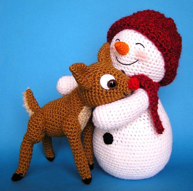 My latest little creations.  I love making snowmen.