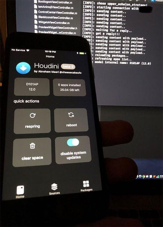 iOS 12 Beta Houdini Semi-Jailbreak Teased | Cydia Tweak