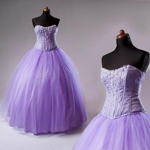Svatební / plesové šaty - Lilac / Zboží prodejce Debonaire | Fler.cz