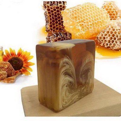Jabón De Leche Miel de la naturaleza Glutatión Blanqueador Piel Belleza Blanqueamiento ácido kójico GL