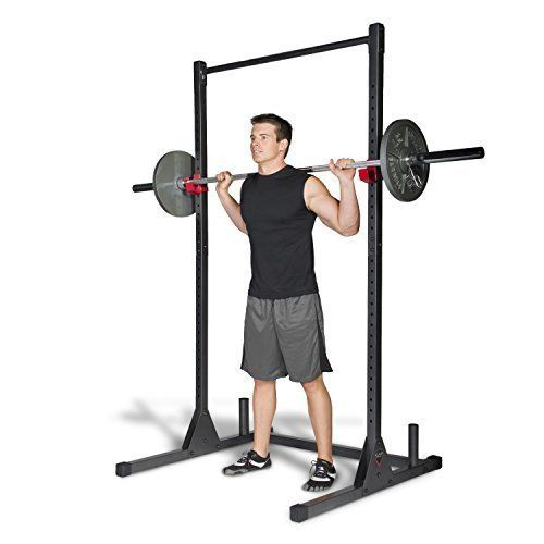 Home Gym Pull Up Bar Stand Station Fitness Exercise Power Standing Rack Lifting #CAPBarbell