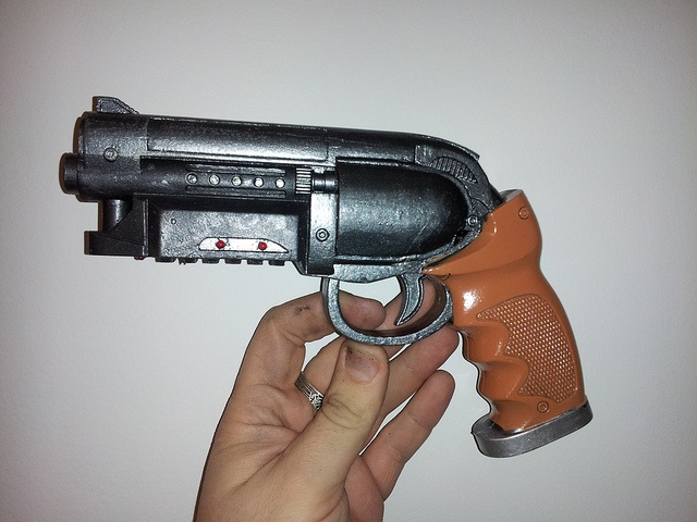 how to make a fallout weapons irl
