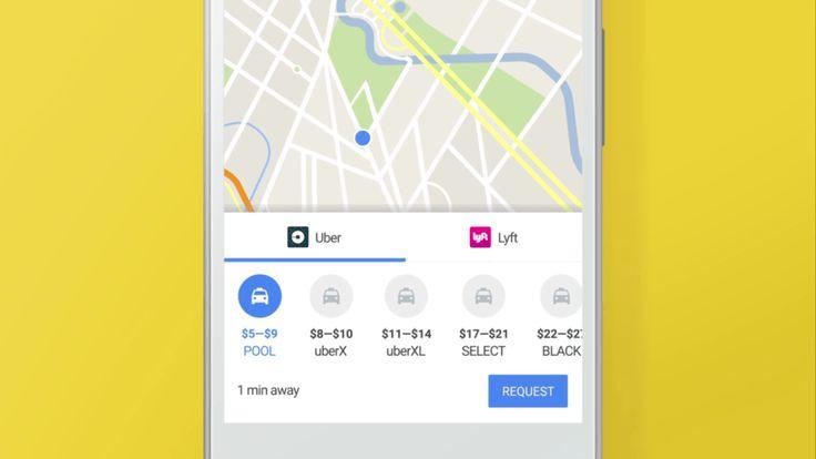 Ahora podrás pedir Uber en Google Maps sin salirte de la app - https://webadictos.com/2017/01/12/pide-uber-en-google-maps/?utm_source=PN&utm_medium=Pinterest&utm_campaign=PN%2Bposts