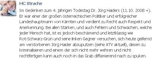 zum Todestag von J. Haider - https://plus.google.com/u/0/101700768890016369861/posts | #FPÖ #hcstrache #Österreich #Wien #Vienna