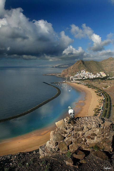 Playa de Las Teresitas, Tenerife, Canary Islands, Spain.
