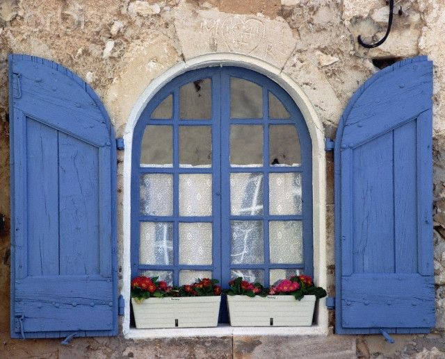 23 best images about french blue shutters on pinterest for French country windows