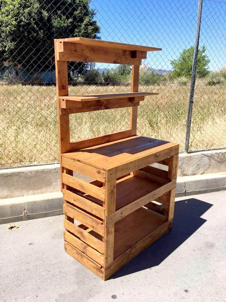 Build a Potting Bench Out of Pallets | Pallet Furniture DIY