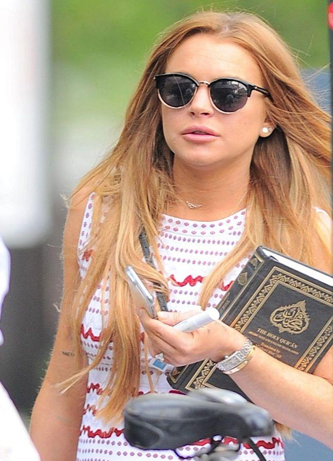 Линдси Лохан (Lindsay Lohan) собирается принять ислам
