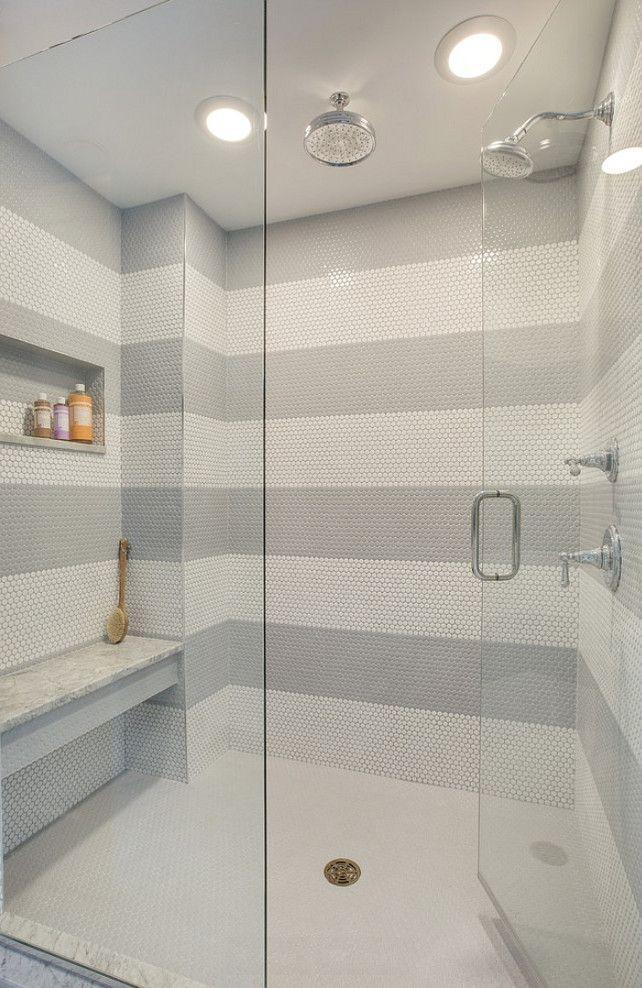 Shower Tiling. Bathroom Shower Tiling. Shower Tiling Pattern. Shower Tiling Ideas. Shower Tiling Pattern Ideas. Shower Stripe Tiling Pattern. #Shower #Tiling #ShowerTiling Revision LLC.