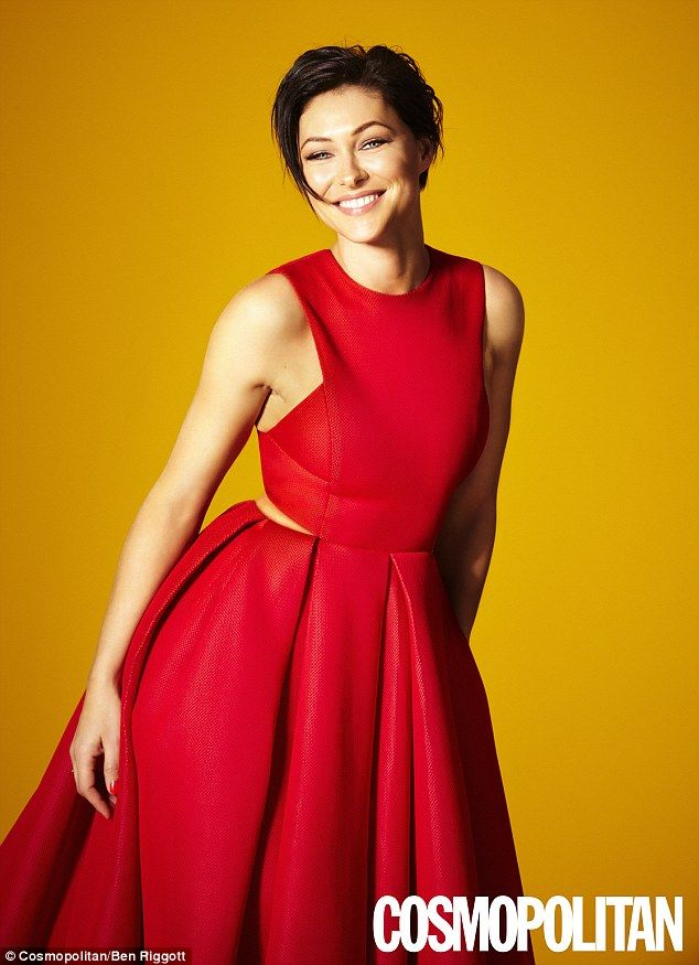 Wedded bliss: Emma Willis has opened up about her marriage to Matt Willis in he new issue ...