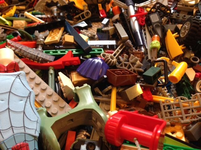 Lego Organizing for Deployment Day #65 | The Happy Housewife