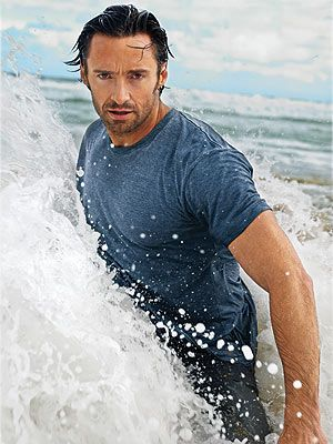 Hugh Jackman....and the beach