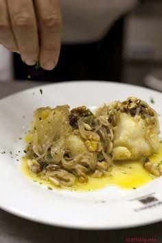 ricetta napoletana baccalà alla cannaruta