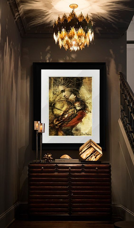 Earthly - framed art print by Anna Madarasz