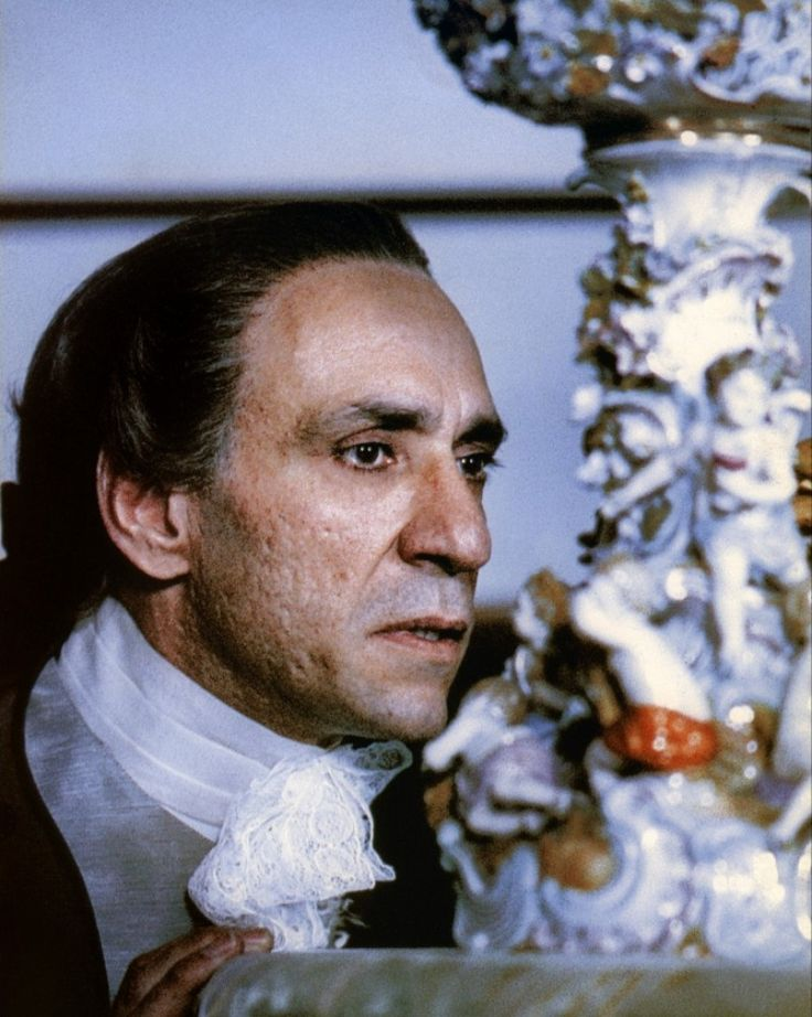 F Murray Abraham as Antonio Salieri in Amadeus. Layered, subtle, rich and beautifully realised. His performance is the kind that makes you want to become an actor.