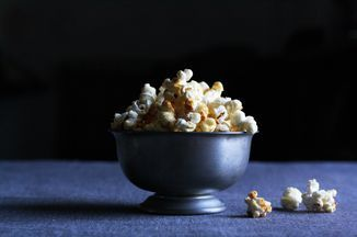 Kettle Corn  Recipe on Food52. Kettle corn is a multigenerational food, much like peanut butter and chicken fingers.   It's a food you can make with your kids, for them -- on top of them, if you're Nicolas Day. You can also make it all for your adult self. You can pile it high in a big bowl and nestle it in your lap and drink a beer with it and be happy, and if you're doing everything correctly, a little high from sugar. Isn't it the time of year for that, anyway?