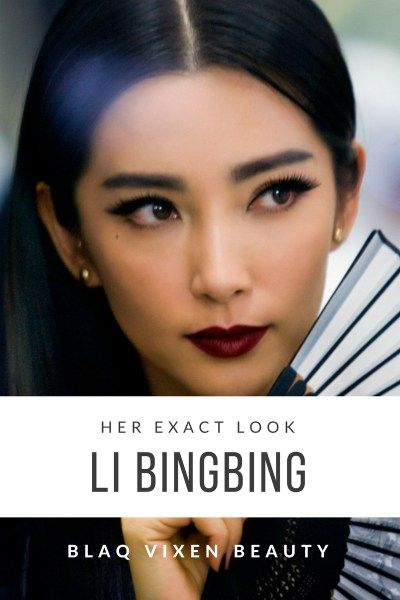 Blaq Vixen Beauty, with the help of celebrity makeup artist Kathy Jeung, details how to get Li Bingbing's lipstick from Transformers: Age of Extinction