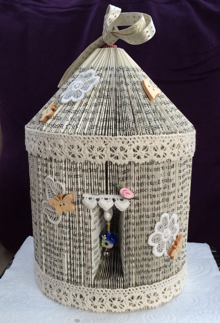 Fairy house book folding front