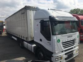 nákladní Iveco STRALIS 450 EURO5 + KRONE ! tahač nafta Praha 9 - Horní Počernice,bílá